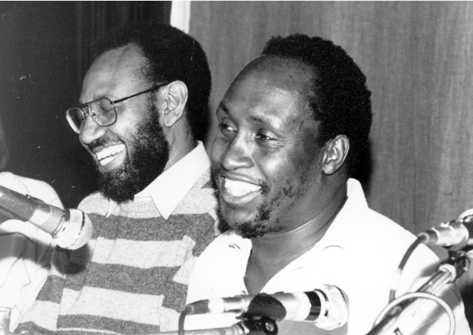 We Harvest the Present from the Future We Planted Yesterday: A Conversation with Abdilatif Abdalla and Ngugi wa Thiong'o